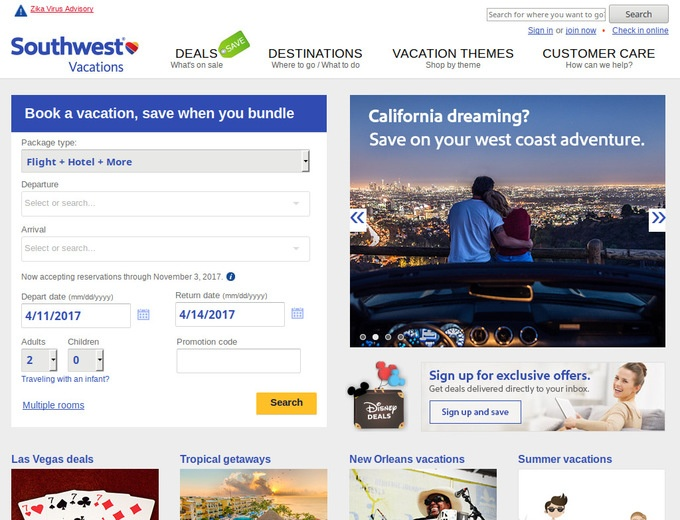 How to use a Southwest Airline coupon Southwest Airlines has a Rapid Rewards program where consumers collect points for excellent flight and travel incentives. They also promote Ding, where flight rate discounts and special offers are delivered online via laptop or iPhone.
