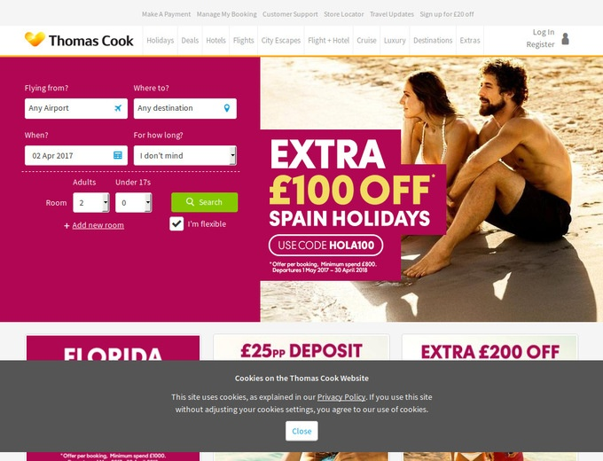 Thomas Cook Holidays