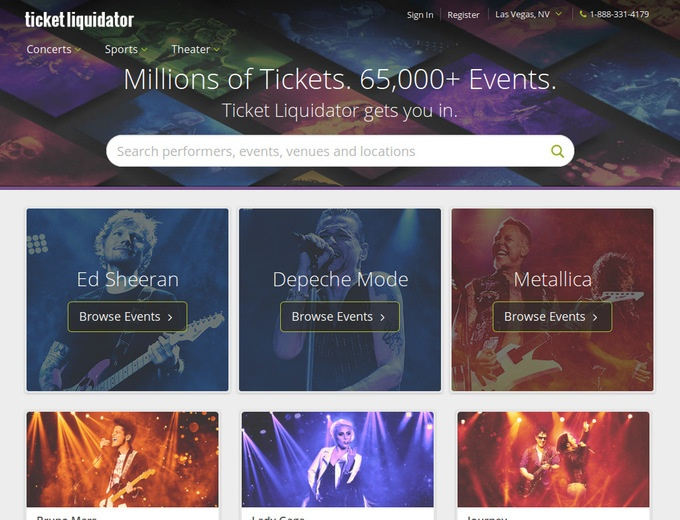 Ticket Liquidator Coupons. Ticket Liquidator offers concert, sports, theater, festival tickets and more with many exclusive offers. Enter TicketLiquidator Discount Code or promo code to save your purchase.