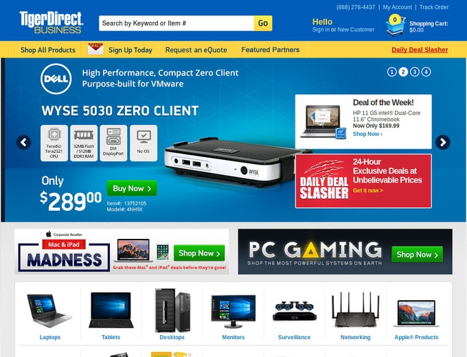 Tiger Direct Coupons & TigerDirect com Promo Codes, Free Shipping