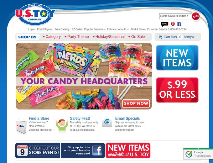 U s toy company coupons us toy company promo codes - Gardeners supply company coupon code ...