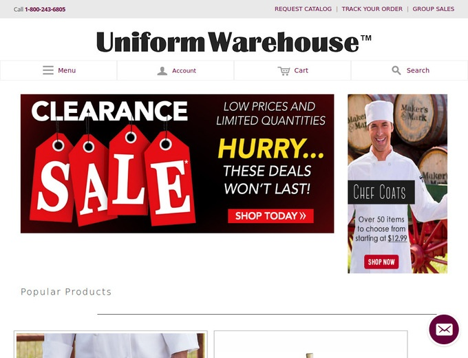 Uniform discount coupon code