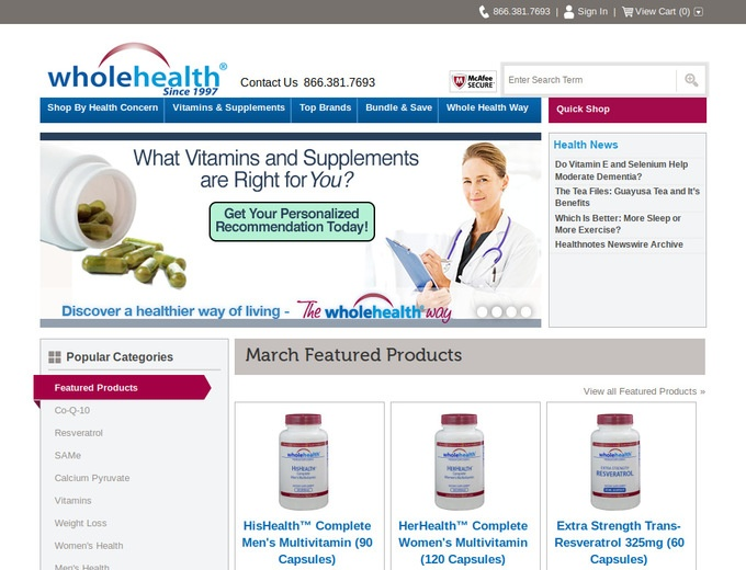 Whole Health Products