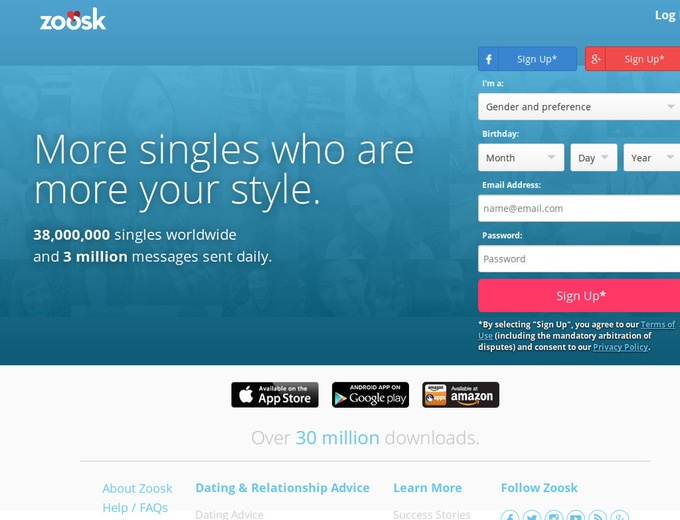 Free Sign Up For Dating Site
