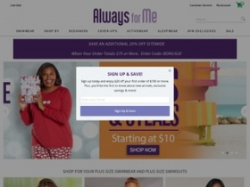 Always For Me Coupon Codes, Promos & Sales