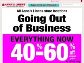 Annas linens coupon code