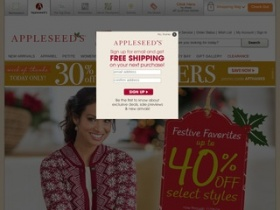 Appleseeds discount coupons