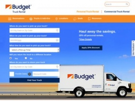 To enjoy the best discount you can, apply the 30% Off Budget Truck Rental Promo Code before you pay your cart.
