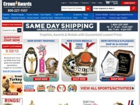 Crown awards coupons discount codes