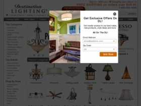 Destination lighting coupon code