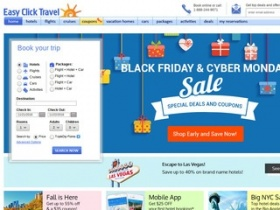 Easy Click Travel Promo Codes Coupons New Coupon