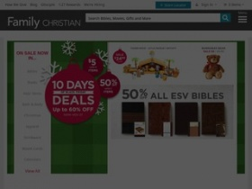 Family christian store coupons online