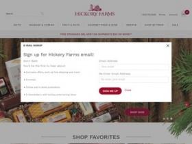 Hickory farms coupon code