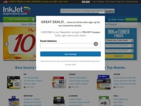 inkjet superstore online coupon codes