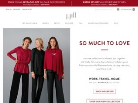 photo regarding Jjill Printable Coupon named J jill discount codes dealigg - Mckenzie taxidermy coupon code
