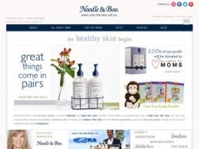 How to Use Noodle & Boo Coupons Noodle & Boo is an organic skin care line for babies and expectant mothers. They offer a flat rate shipping fee of $5 on all orders - no coupon needed. Noodle & Boo allows you to shop by price, which makes finding the best deals easier.