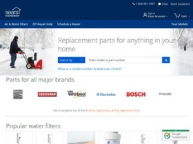 Shopping Tips for Sears PartsDirect: 1. Sears PartsDirect allows one full year for full refunds if you are not completely satisfied. 2. If you're in need of a repair, you can take advantage of the complimentary instructions and videos online for fixing your appliances.