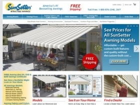 SunSetter Awnings Coupons & SunSetter.com Promo Codes