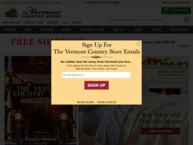Coupon code for vermont country store