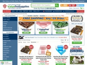 Value Pet Supplies Black Friday Deals Don't miss out on Black Friday discounts, sales, promo codes, coupons, and more from Value Pet Supplies! Check here for any early-bird specials and the official Value Pet Supplies sale.